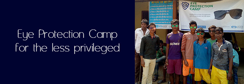 Eye Protection Camp in Agra village