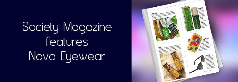 Nova Eyewear Society magazine Feb 2018