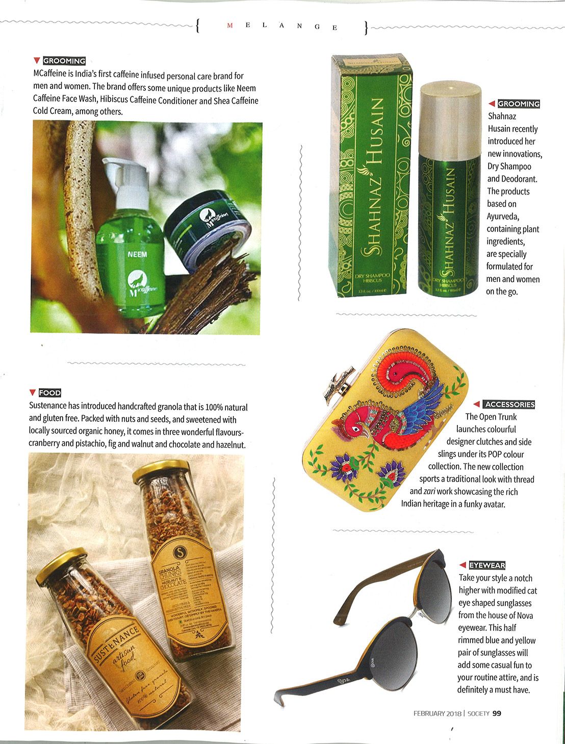 Nova Eyewear Society magazine