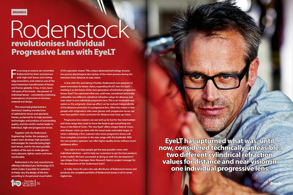 Rodenstock revolutionises Individual Progressive Lens with EyeLT